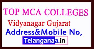 Top MCA Colleges in Vidyanagar Gujarat