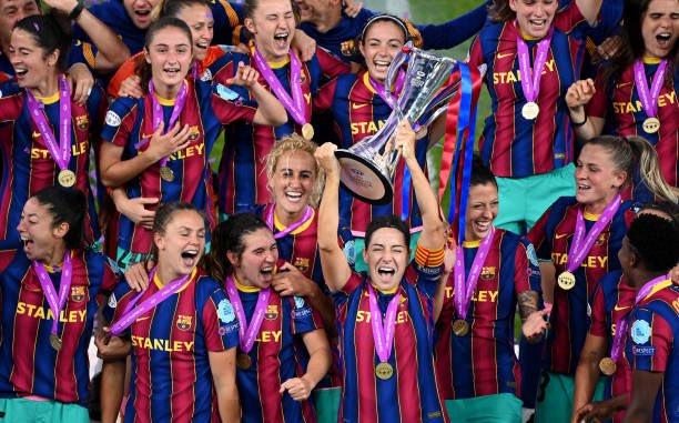 سيدات برشلونة يتوجن بلقب دورى ابطال اوروبا