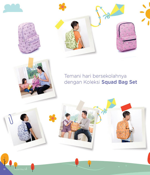 Squad Bag Set, Katalog Tulipware 2019