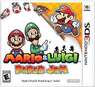 Rom Mario & Luigi Paper Jam Bros 3DS