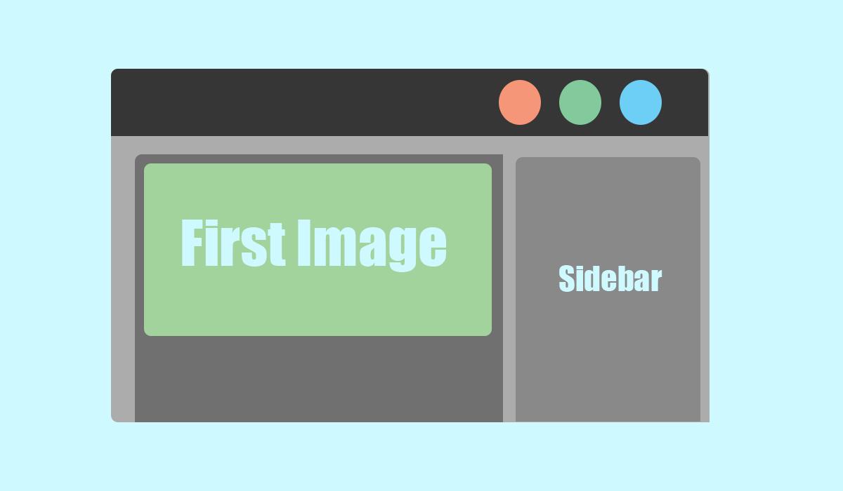 Cara Membuat First Image di Blogger