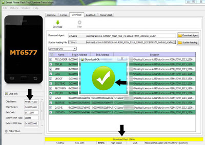 Lenovo A390 Stock Firmware and Flashing Tool MT6577  Firmware / flashing tutorials