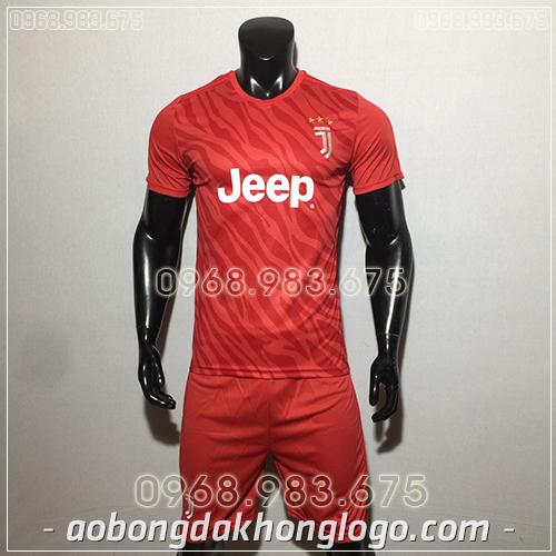 Áo bóng đá câu lạc bộ Juventus đỏ 2020