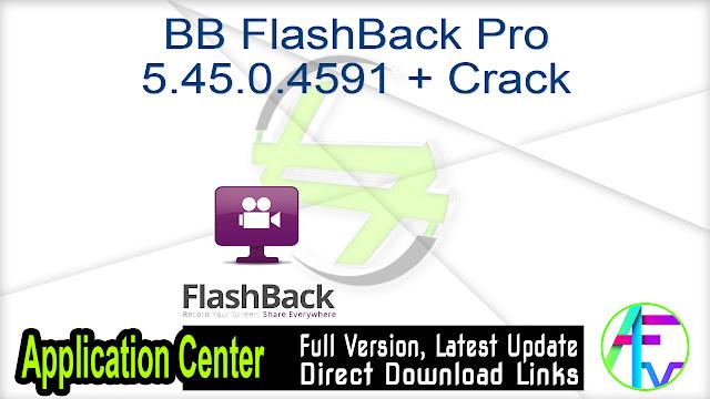 BB FlashBack Pro 5.45.0.4591 + Crack