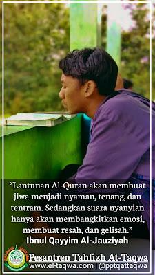 Lantunan Quran versus Suara Nyanyian