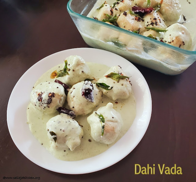 images of Thayir Vadai Recipe / Curd Vada Recipe / Dahi Vada Recipe / Soft Dahi Vada Recipe