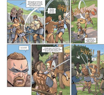 Sirènes & Vikings tome 2 - Freydis l'héroïne est une guerrière viking redoutable