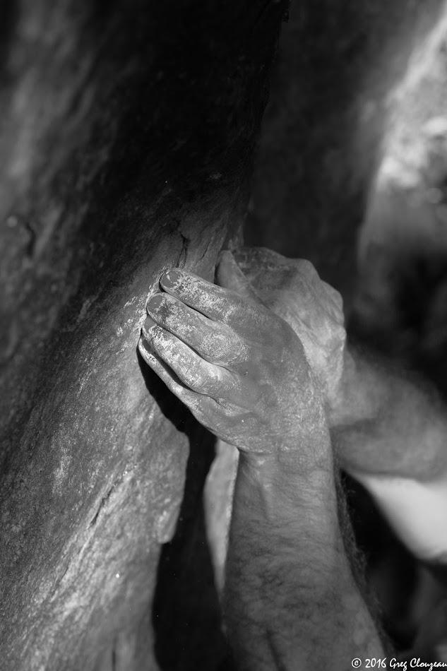 Au départ de la ponction lombaire, Bois Rond, (C) 2016 Greg Clouzeau