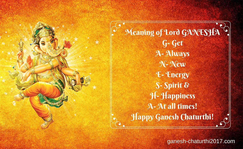 Ganesh Puja wishes