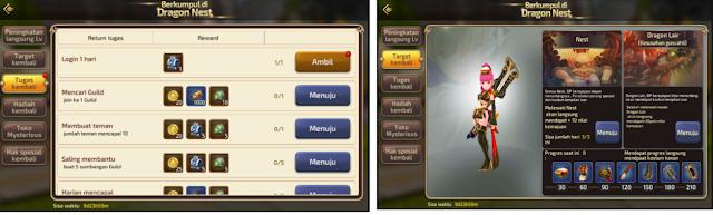 Keuntungan dan Kerugian Event Return Dragon Nest M-Sea – Naik Level Satu kali Klik