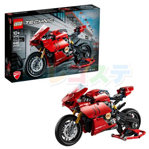 レゴ(LEGO)テクニック ドゥカティ パニガーレ V4 R 42107