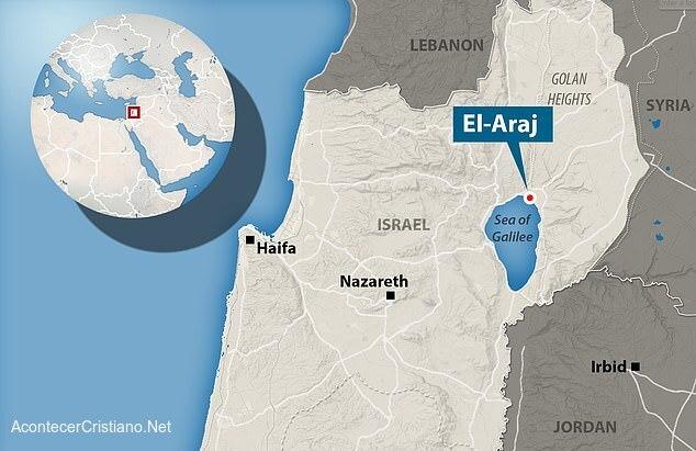 Ubicación de El-Araj