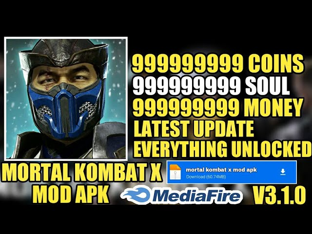Mortal Kombat X New Apk V3. 1.0