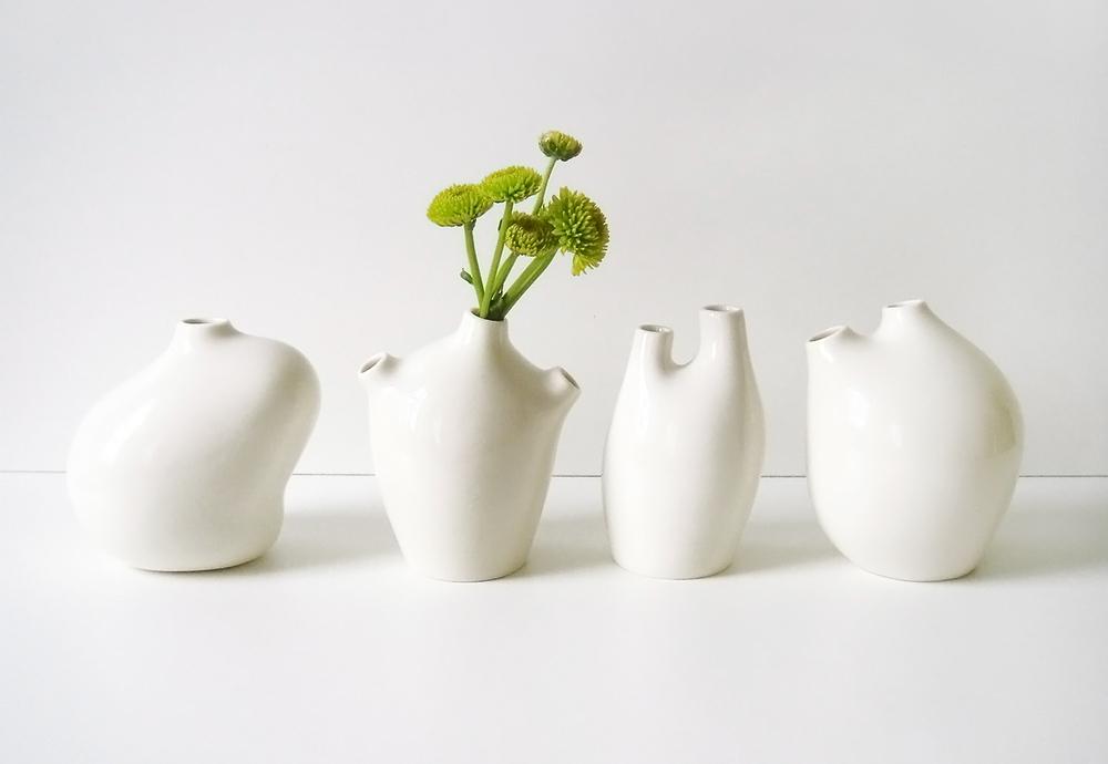 Las porcelanas hechas a mano de Michiko Shimada