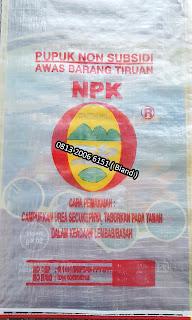 Pupuk NPK Green Hill Hasya Jaya