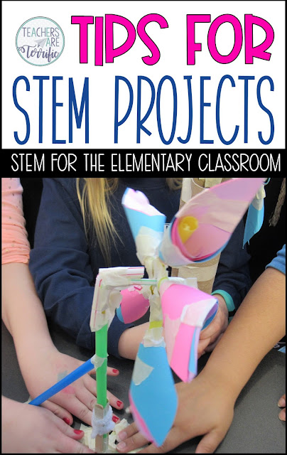 STEM Challenge advice and tips for teachers new to STEM! This post can be a great help with your expectations and planning for a STEM activity! #teachersareterrific #STEM #elementary