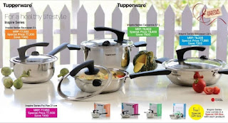 Tupperware inspire series