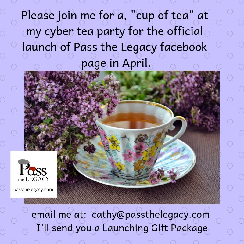 Join Cathy for her Cyber Tea Party