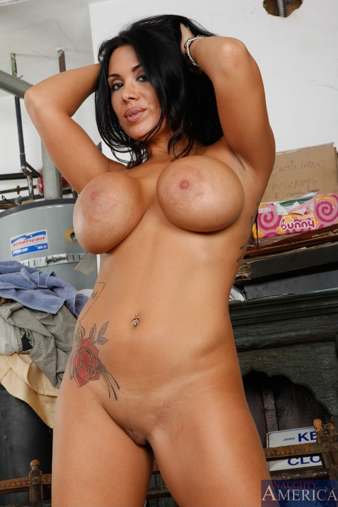Hottest black nude girl
