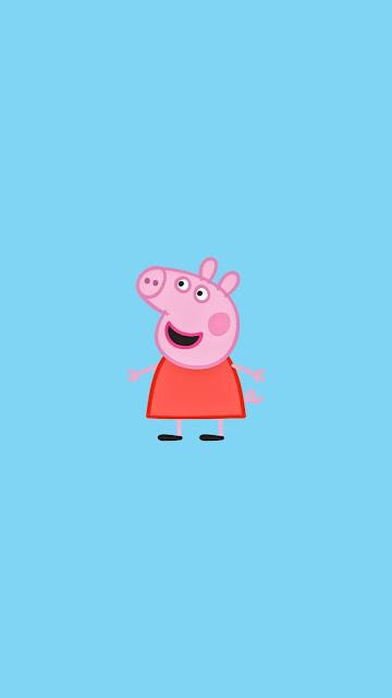 iphone peppa pig wallpaper