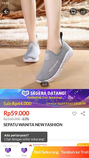 sepatu lazada