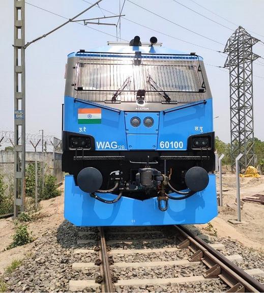 एल्स्टोम ने भारतीय रेलवे को दिया 12,000 एचपी क्षमता वाला 100वां इलेक्ट्रिक लोकोमोटिव
