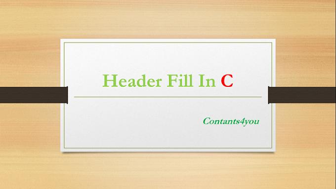 Header File in C in Hindi – हैडर फाइल क्या है?