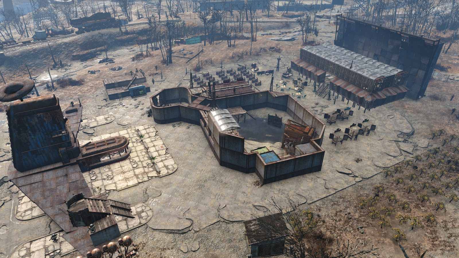 fallout 4 how to make arena