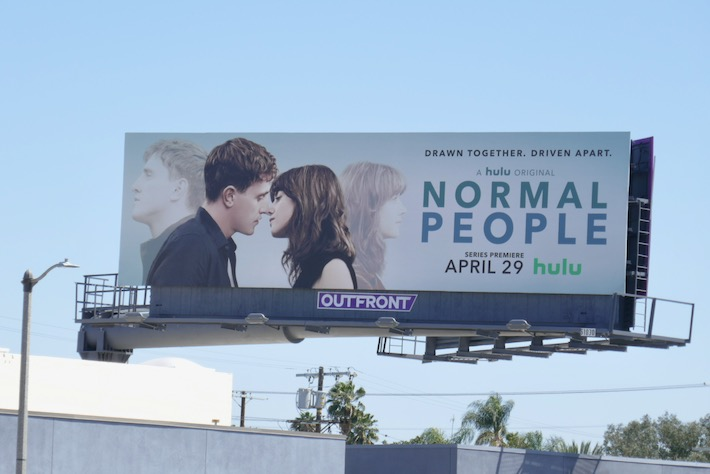 Normal People TV series billboard