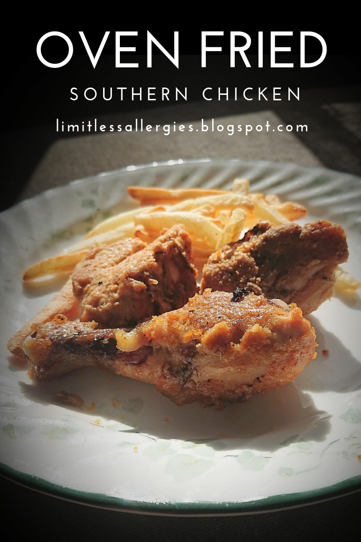 pin for Gluten Free Southern Oven Fried Chicken