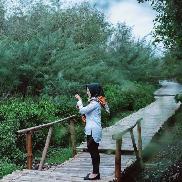 Lokasi Wisata Mangrove Gunung Anyar