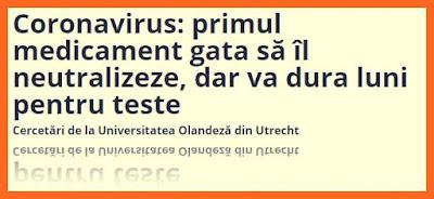 pareri primul medicament contra coronavirusului din china