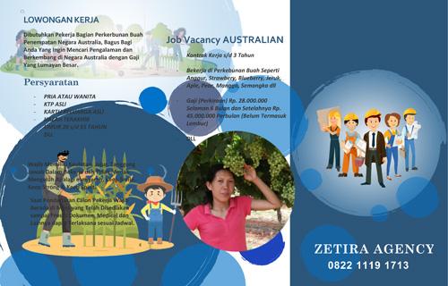 lowongan kerja di asutralia jadi tukang kebun 2020 - 2021