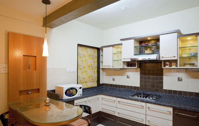 Interior Dapur Minimalis Langsung Dengan Ruang Makan - Desain Rumah Idaman Keluarga