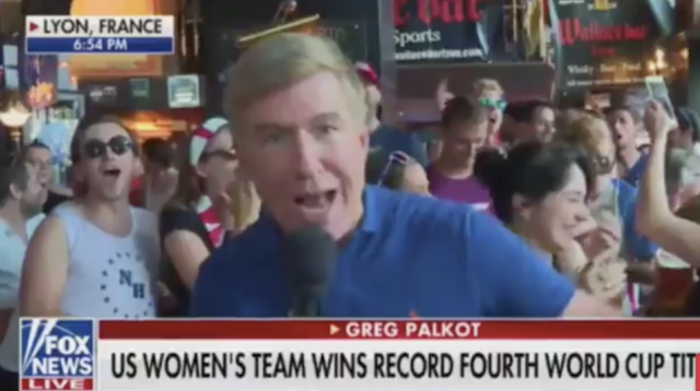 "Crowd Chants ""F*** Trump!"" After U.S. Women's World Cup Victory On Fox News Broadcast"