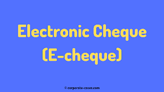 electronic cheque in india