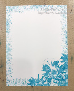Linda Vich Creates: So Detailed With Stamped Embossing. Tempting Turquoise and Whisper White provide a fresh color scheme for this card that pairs stamped embossing with the So Detailed Thinlits.