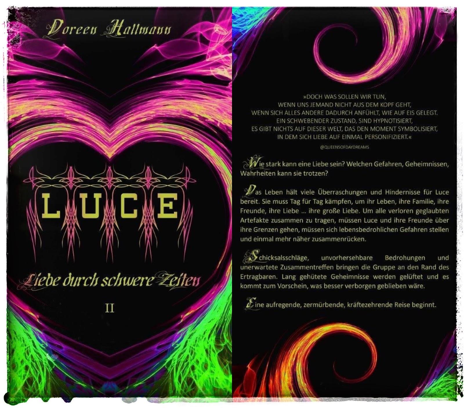 Wunderbar . . . im Norden: Ankündigung: LUCE Band 2: Liebe