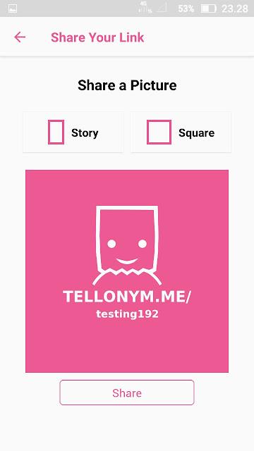 cara mendaftar tellonym