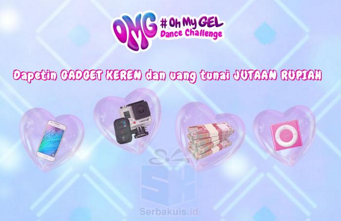 Kontes Izzi OMG Dance Berhadiah Uang 8,5 Juta + Gadget