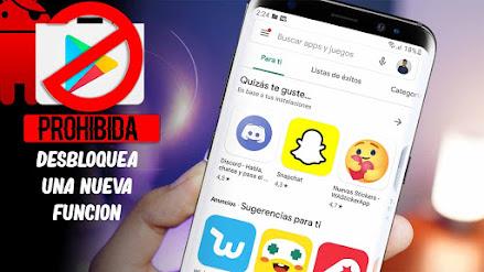 Android revela una nueva aplicación secreta que no esta en la Play Store