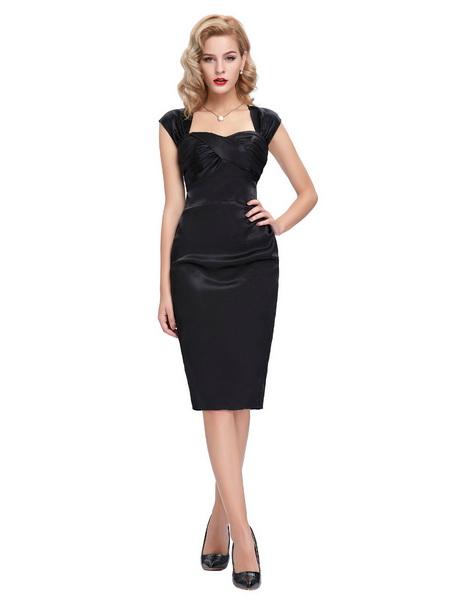 Vestido formal negro