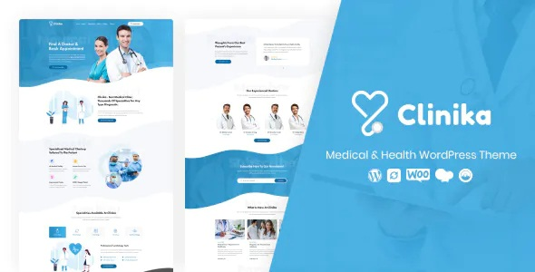 Best Medical Clinic WordPress Theme