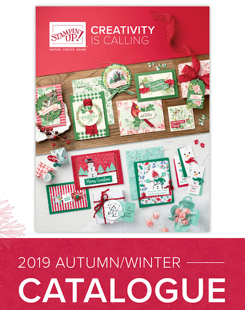 Autumn Winter catalogue 19 Stampin Up Paper Daisy