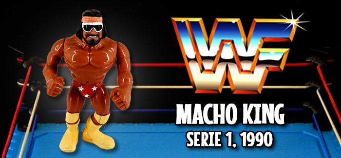 Figura Pressing Catch Macho King (Hasbro, 1990)