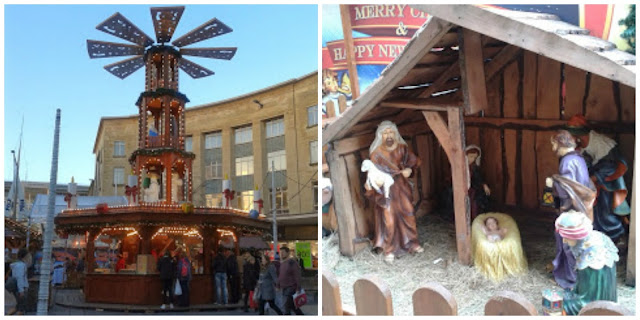 Scenes from Bristol's Christmas Market