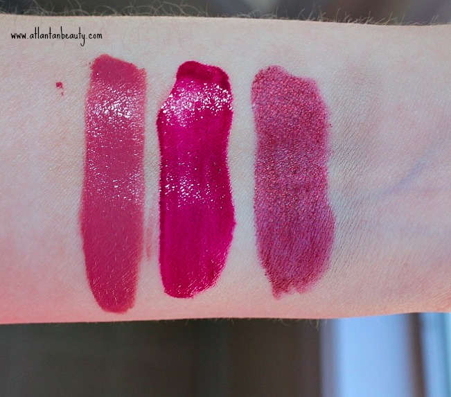 Maybelline Summer 2017 Lip Products Swatches