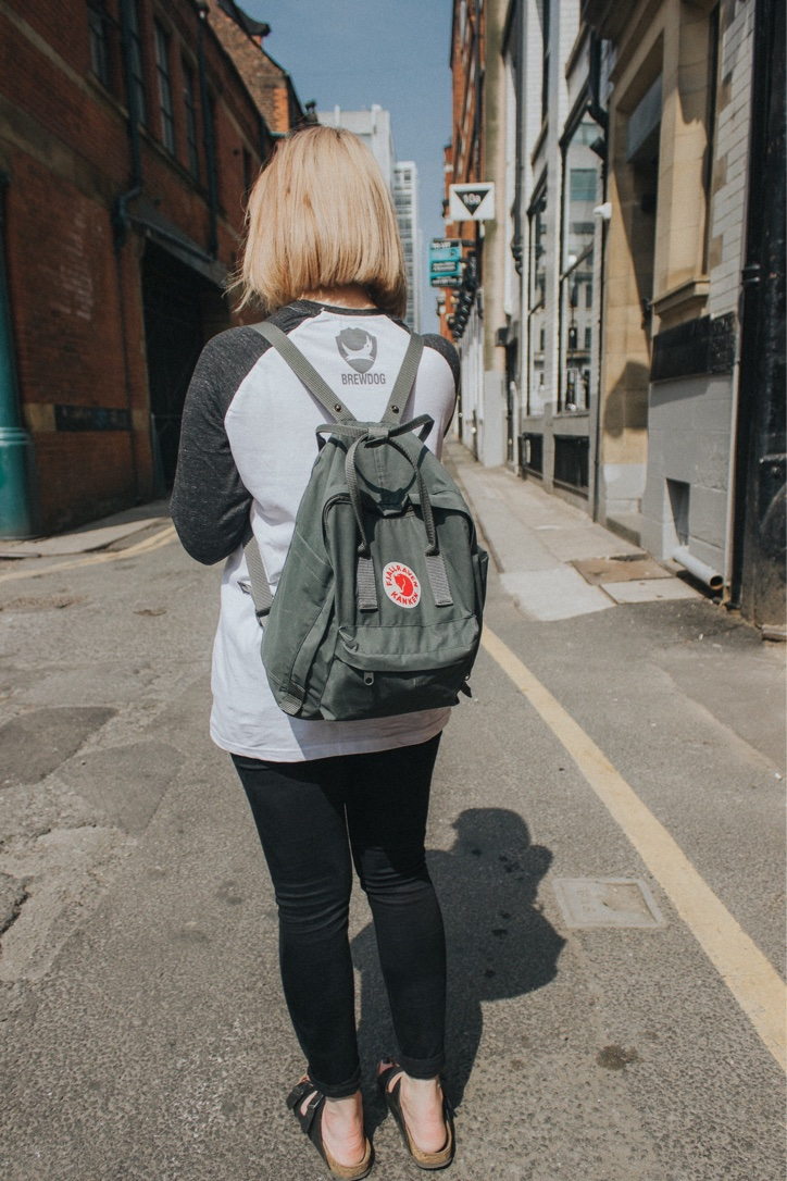 fjallraven kanken backpack blogger