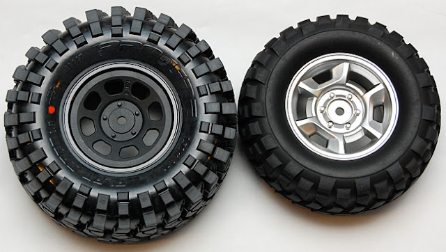 Tamiya High Lift tires vs proline flat iron tires