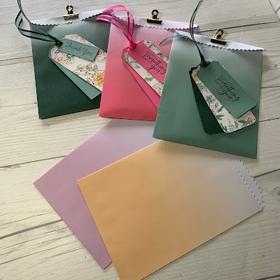 Ombre Gift Bags - 155479 - from Stampin' Up!